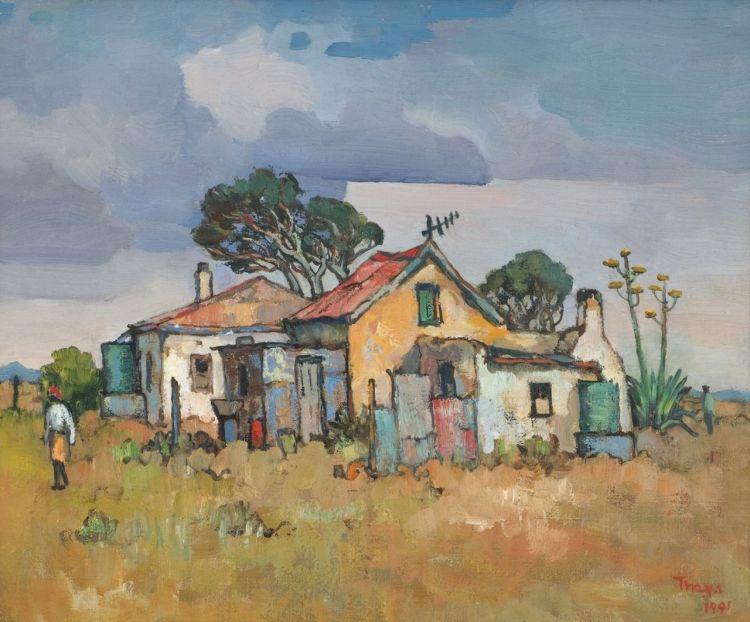 Conrad Theys; Karoo Houses