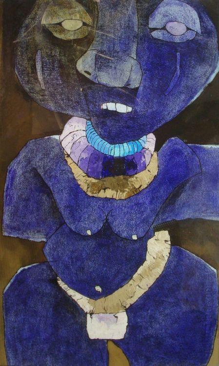 Leonard Matsoso; African Woman