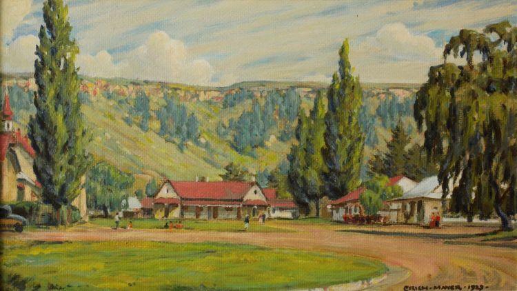 Erich Mayer; Ficksburg, OFS