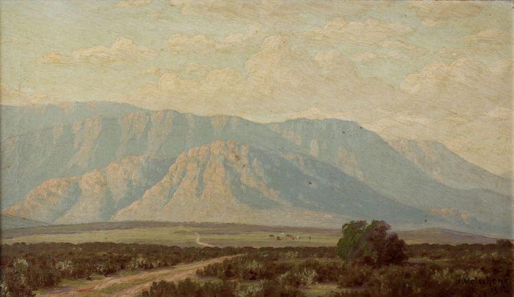 Jan Ernst Abraham Volschenk; A Double Range in the Langebergen (Riversdale)
