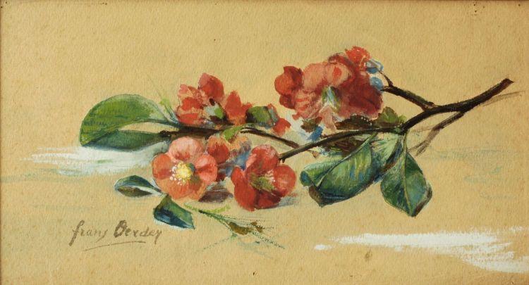 Frans Oerder; Blossom Sprig