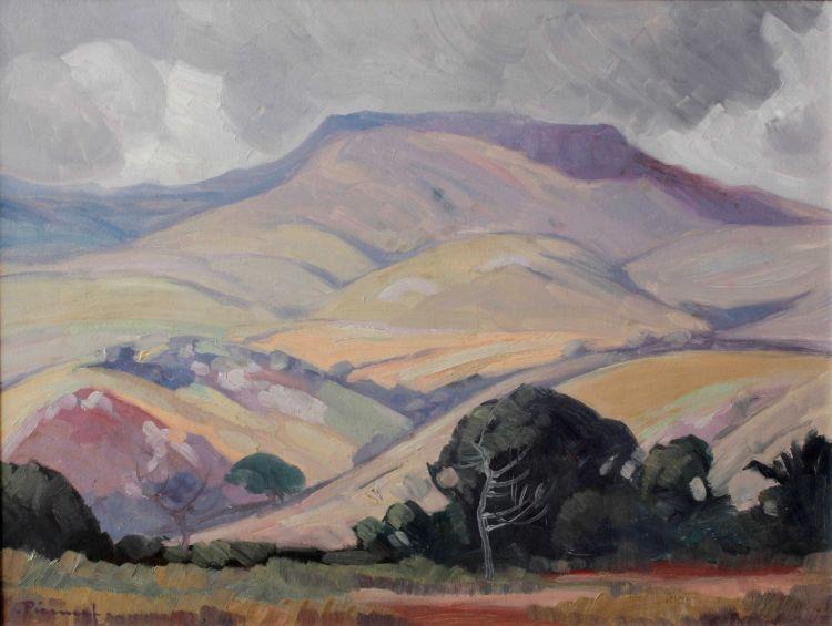 Jacob Hendrik Pierneef; Landscape, Northern Transvaal