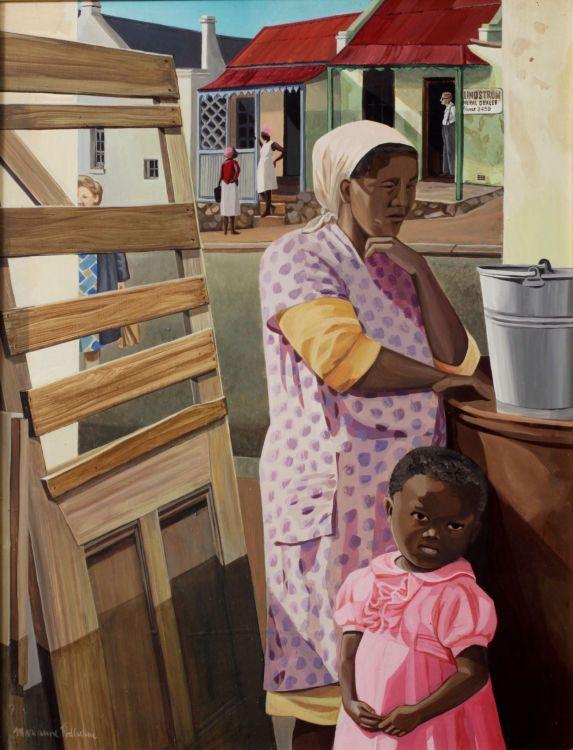 Marianne Podlashuc; South End Street, Port Elizabeth