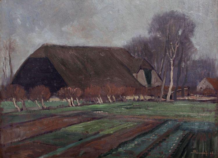 Jacob Hendrik Pierneef; Boerewoning, Rotterdam, Holland