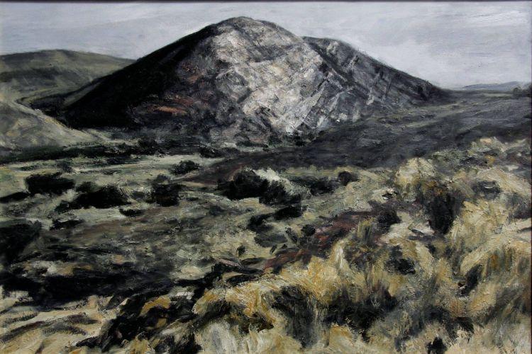 Johann Louw; Rocks outside Laingsburg