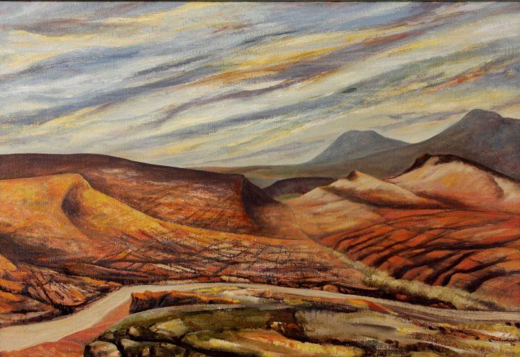 Erik Laubscher; Rietvalei, Klein Karoo, recto, Landscape, verso