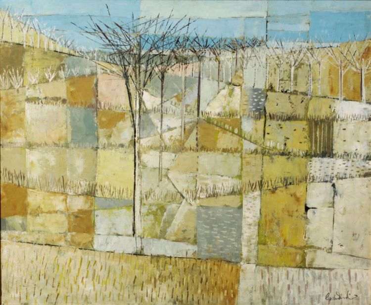 Gordon Vorster; Trees in an Abstract Landscape