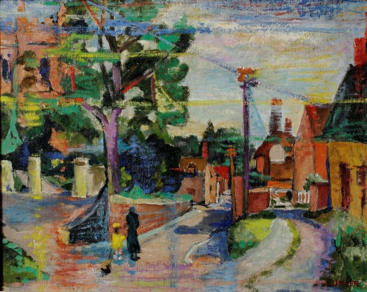 Maud Sumner; Walking the Dog