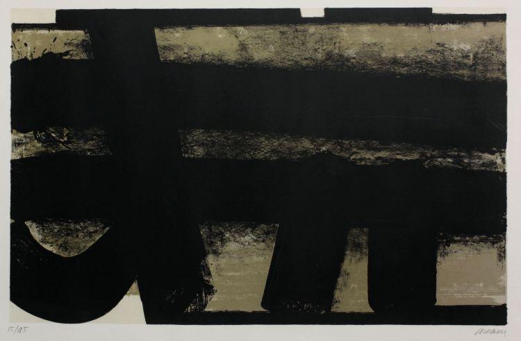 Pierre Soulages; Composition XXXV