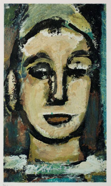 After Georges Rouault; Visages, ten portraits