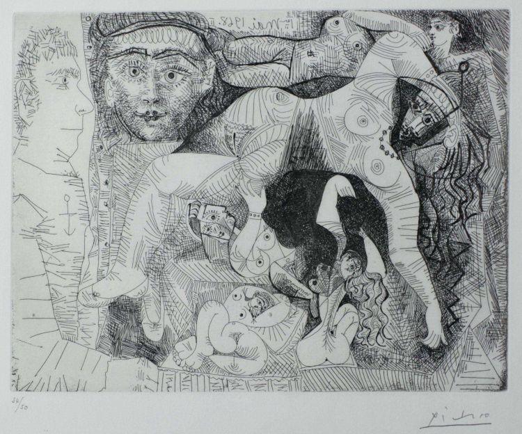 Pablo Picasso; Reve de Marin
