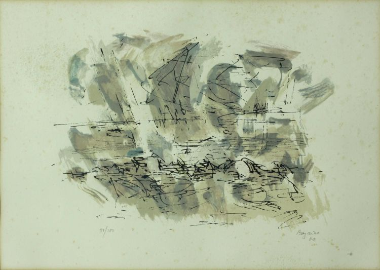 Jean-René Bazaine; Abstract