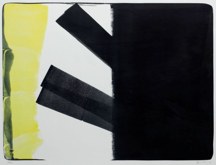 Hans Hartung; Komposition