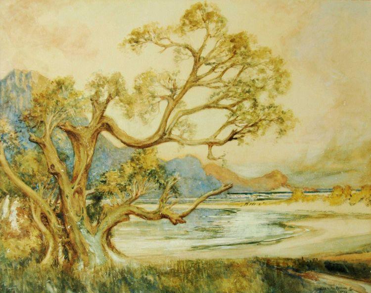 William Timlin; A Coastal Landscape
