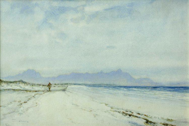 William Timlin; False Bay Coastline from Muizenberg