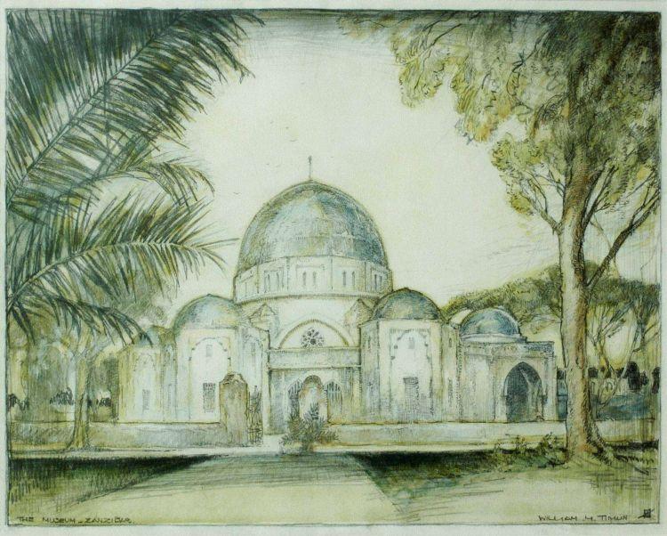 William Timlin; The Museum, Zanzibar