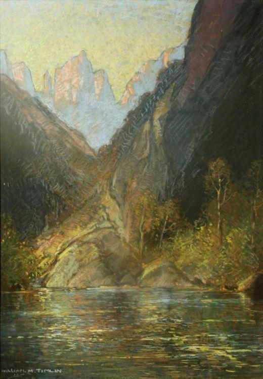 William Timlin; A Mountain Pool