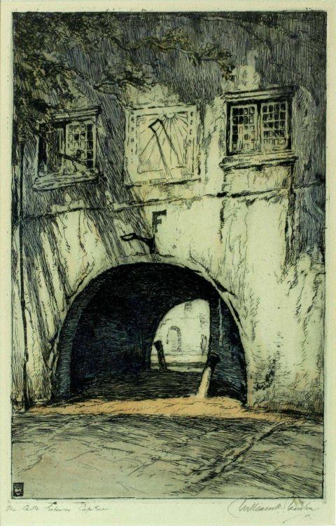 William Timlin; The Castle Gateway, Cape Town