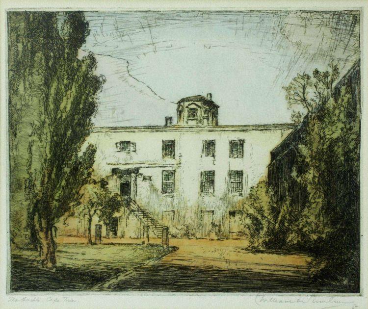 William Timlin; The Castle, Cape Town