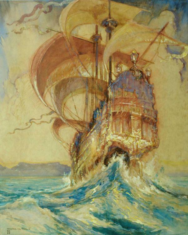 William Timlin; The Galleon