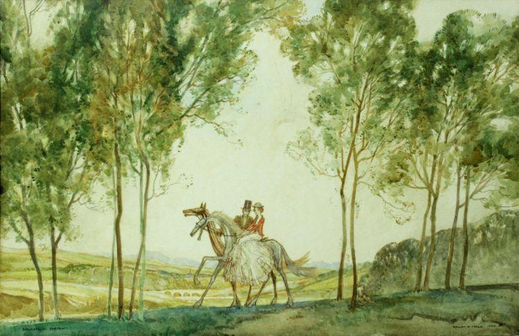 William Timlin; Equestrian Portrait