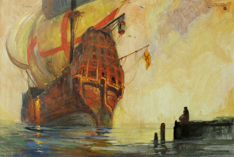 William Timlin; The Leper Ship