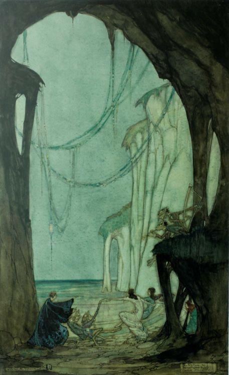 William Timlin; Illustration to Tschaikowsky's Danse Macabre