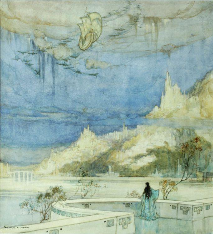 William Timlin; The Arrival