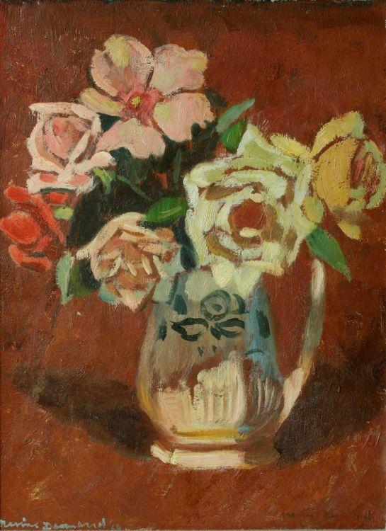 Nerine Desmond; Roses at Night