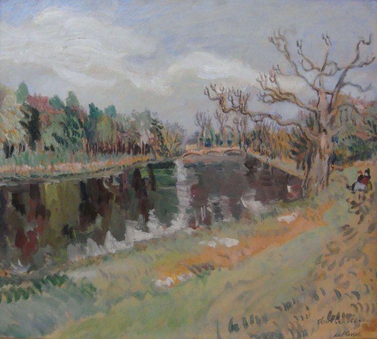 Enslin du Plessis; The Bridge, Hatfield Park