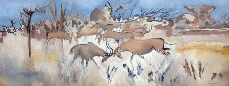 Gordon Vorster; Antelopes Fighting
