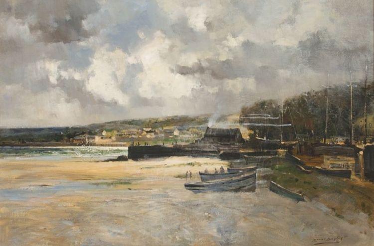 Errol Boyley; Boat Yard, Port Beaufort