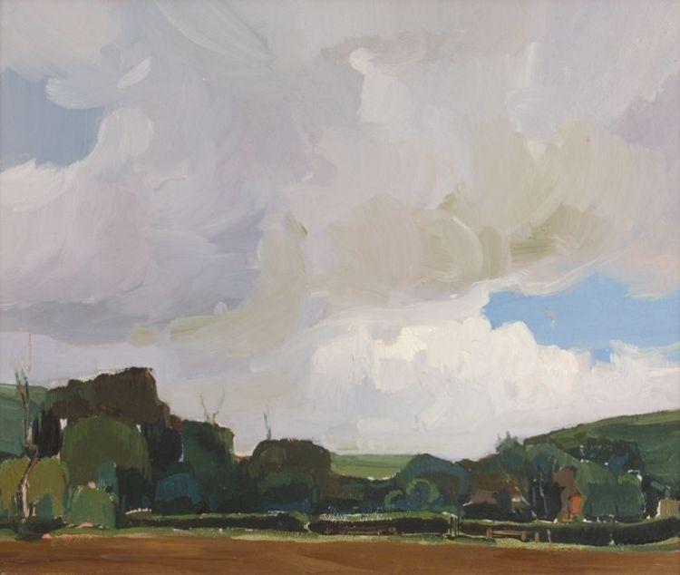 Pieter Wenning; Landscape, Pretoria