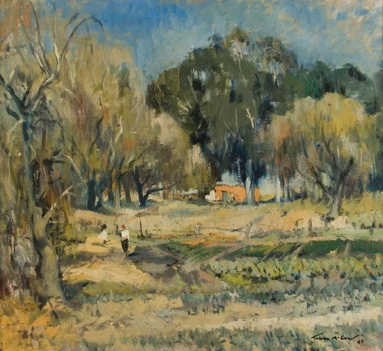 Terence McCaw; A View of the Portuguese Market Gardens, Oaklands, Johannesburg