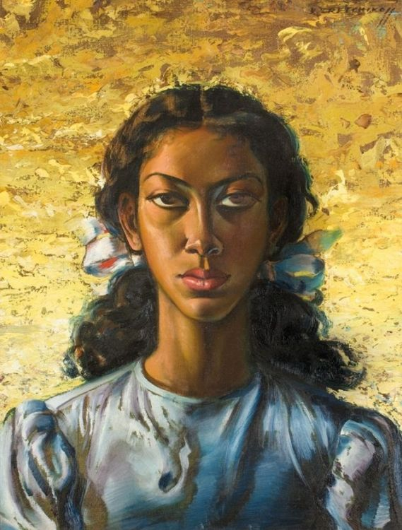 Vladimir Tretchikoff; A Young Girl