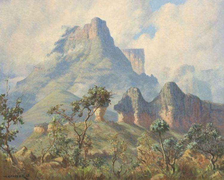 Willem Hermanus Coetzer; Eastern Buttress Mont-Aux-Sources