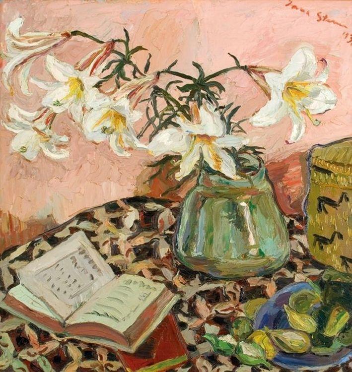 Irma Stern; White Lilies