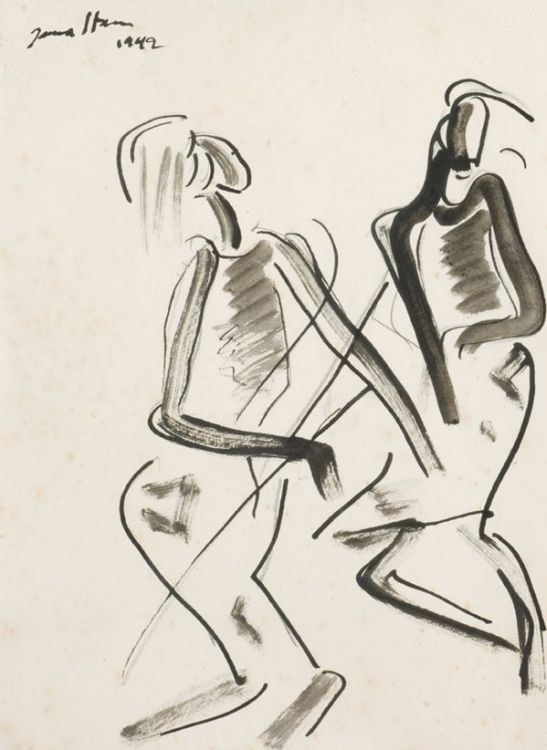 Irma Stern; Watussi Dancers