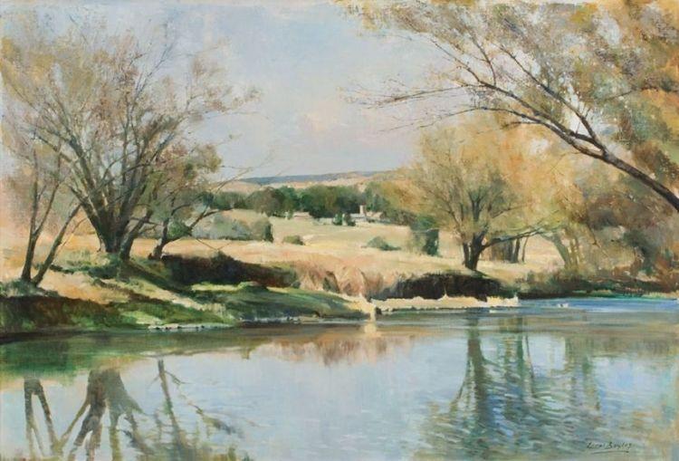 Errol Boyley; A River Landscape