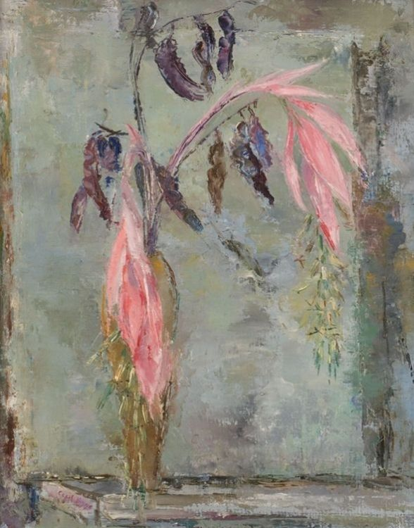 Cecil Higgs; A Still Life of Flowers