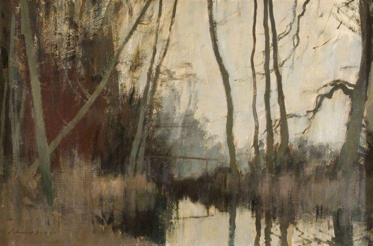 Edward Seago; February, Norfolk