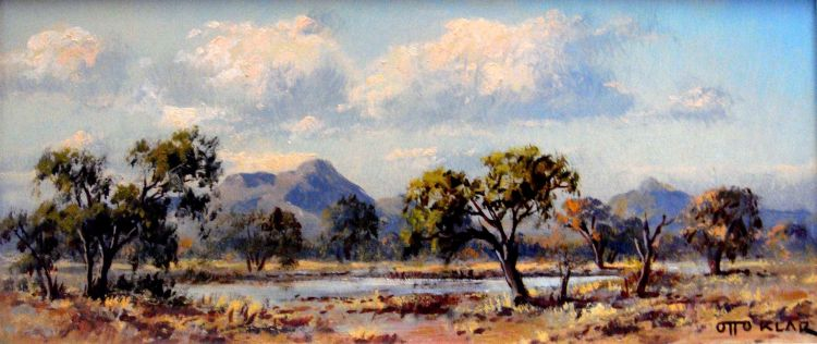 Otto Klar; An Extensive Bushveld Landscape with a River