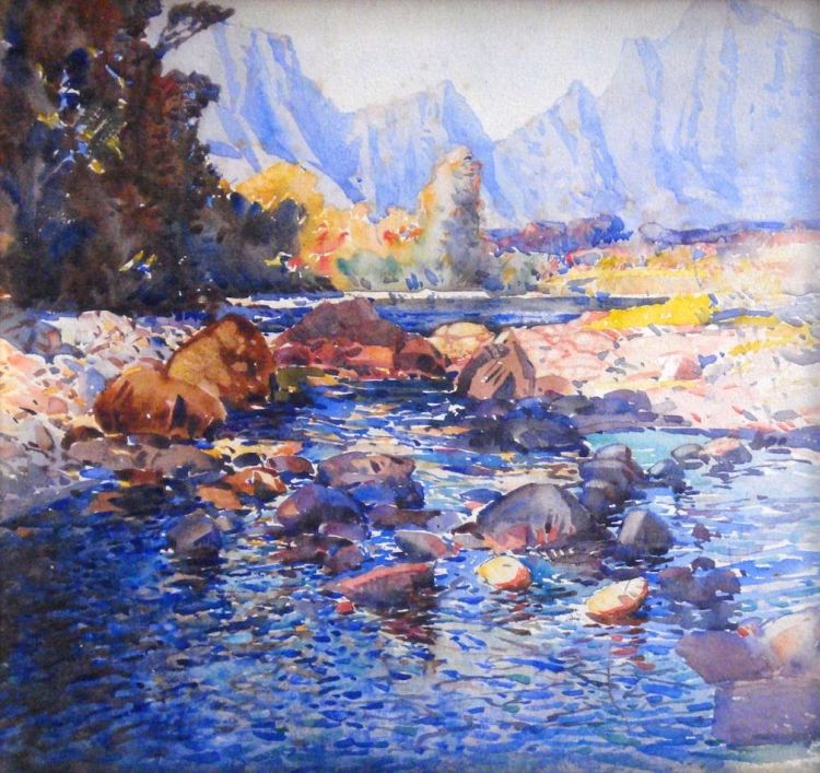 Robert Gwelo Goodman; Breede River, Cape