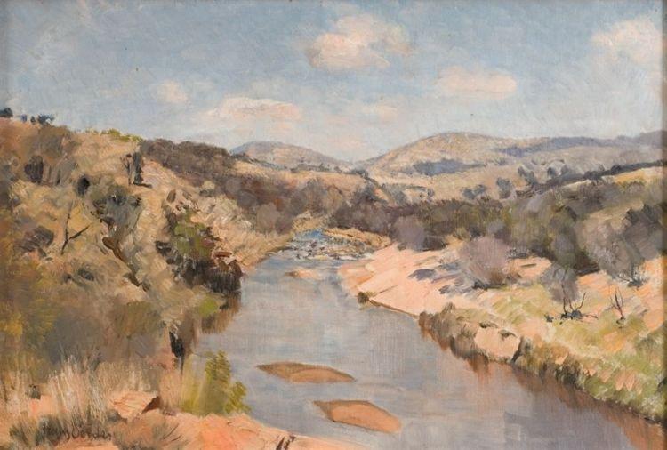 Frans Oerder; Apies River, North of Pretoria