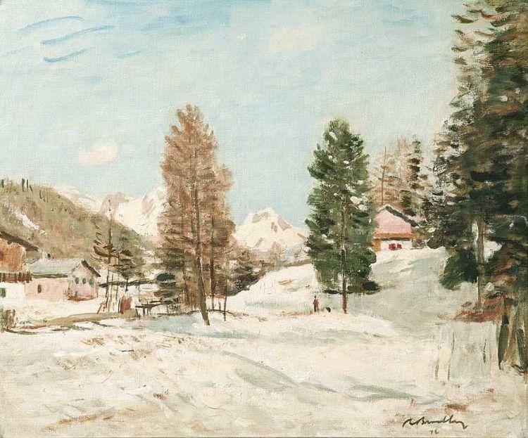Robert Broadley; At Montana, Switzerland