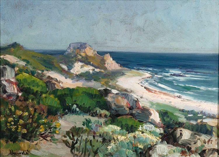 Hugo Naudé; Kleinmond Seascape