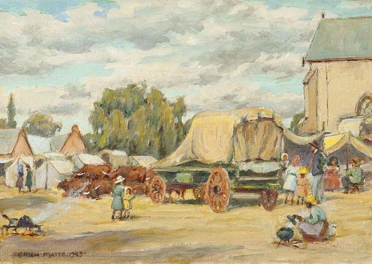 Erich Mayer; Nagmaal in Rustenburg