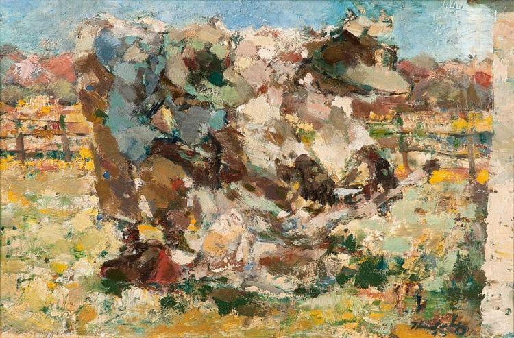 Jean Welz; The Sheep Shearers