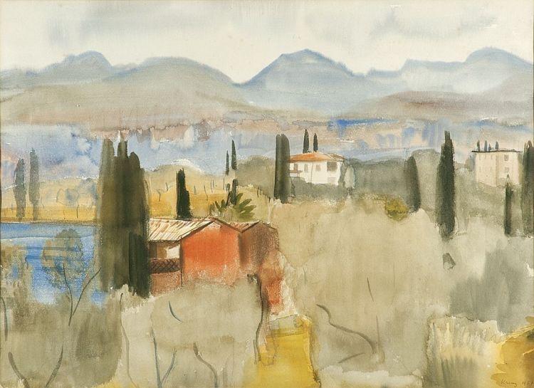 Alfred Krenz; Continental Landscape
