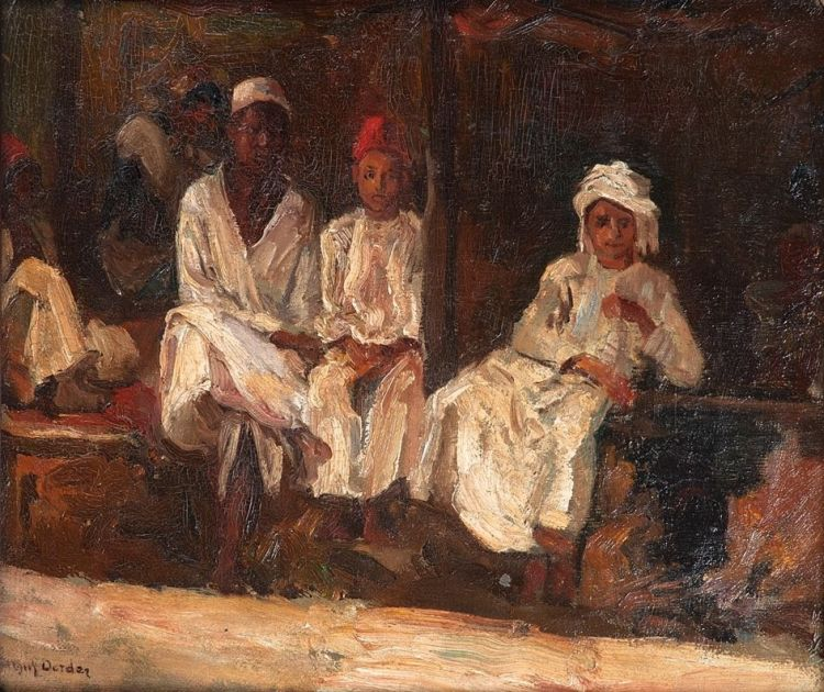 Frans Oerder; Three East African Boys